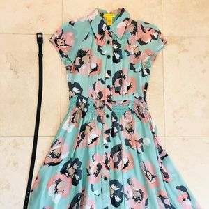 Catherine Malandrino Floral Dress